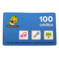 Cartão pré-pago 100 créditos